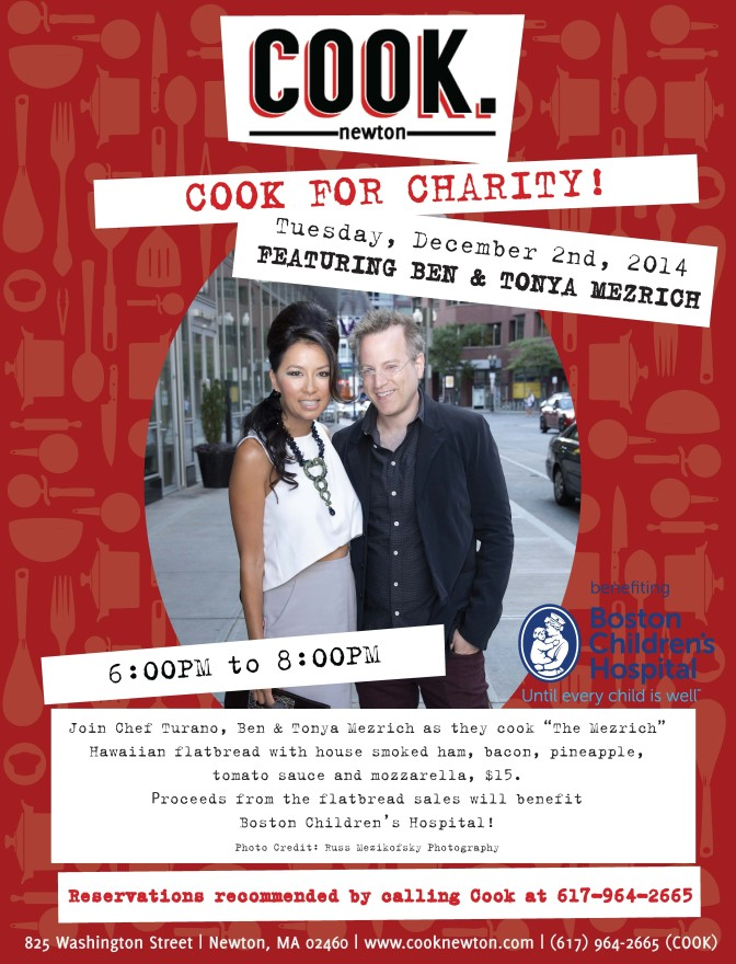 Cook For Charity 12.2