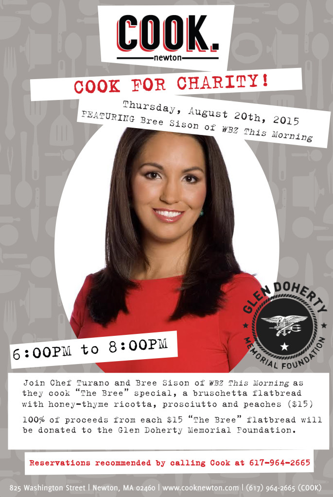 cook for charity 12x18 Aug 20th