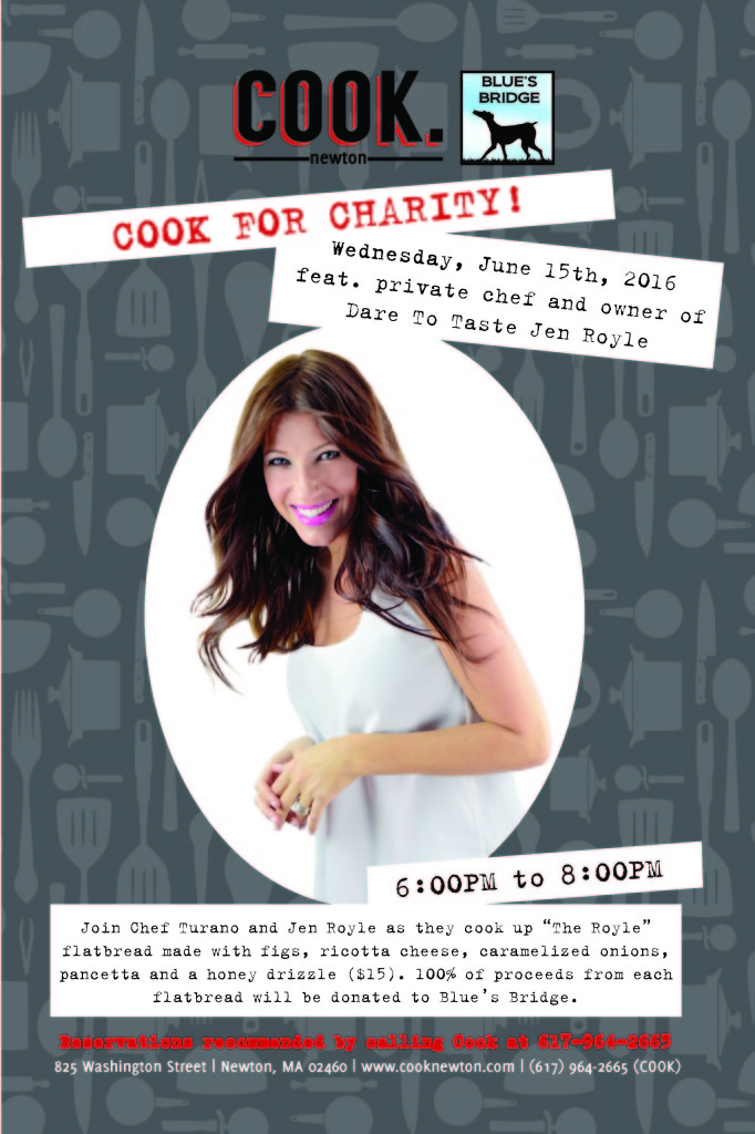 Cook For Charity Jen Royle June E Marketing
